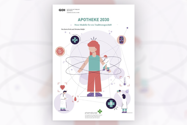 Cover of the GDI «Pharmacy 2030» study