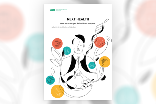 Cover of the GDI study: «Next Health»